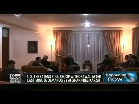 Karzai's latest demands threaten full US troop withdrawal   Fox News Video