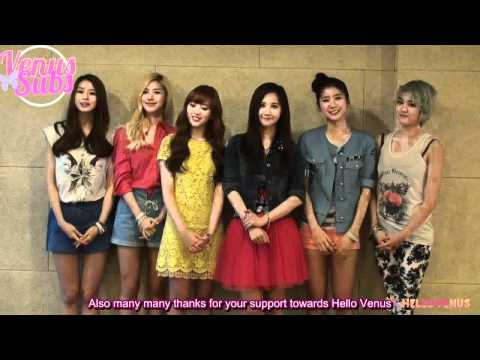[ENGSUB] 120506 Hello Venus Greetings