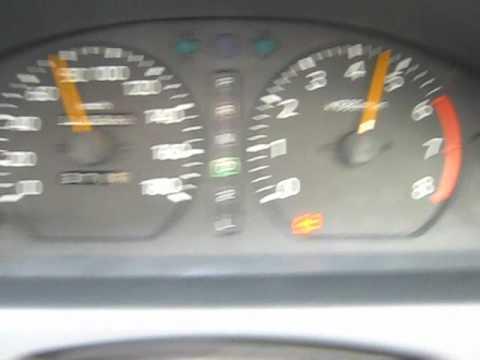 Разгон Toyota Sprinter Trueno 0-100 км/ч