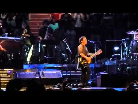 Bruce Springsteen Paris Bercy 4 July 2012 Overture