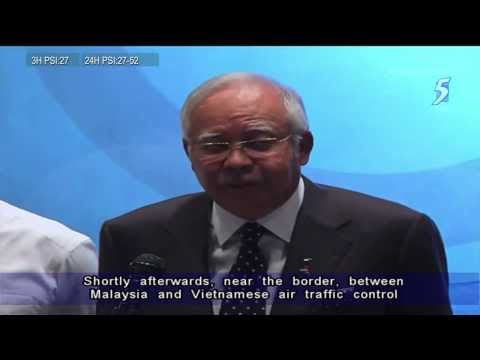 M'sia Prime Minister Najib : Disappearance of Malaysian jet appears