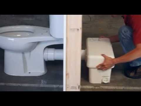 Liberty Pumps Ascent Ii 1 28 Gpf Macerating Toilet System