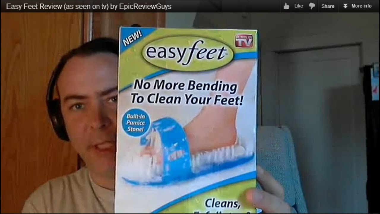 easy feet review as seen on tv by epicreviewguys youtube. Black Bedroom Furniture Sets. Home Design Ideas