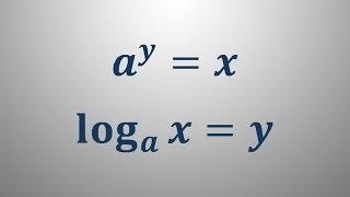 Pretvorba eksponentnega v logaritemski zapis
