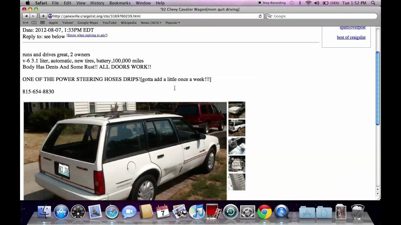 Craigslist Janesville Wisconsin Used Cars Trucks And