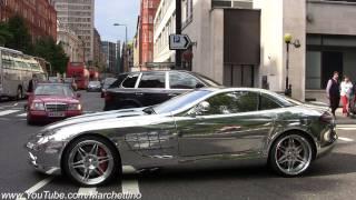 CHROME Mercedes SLR Mclaren Brabus