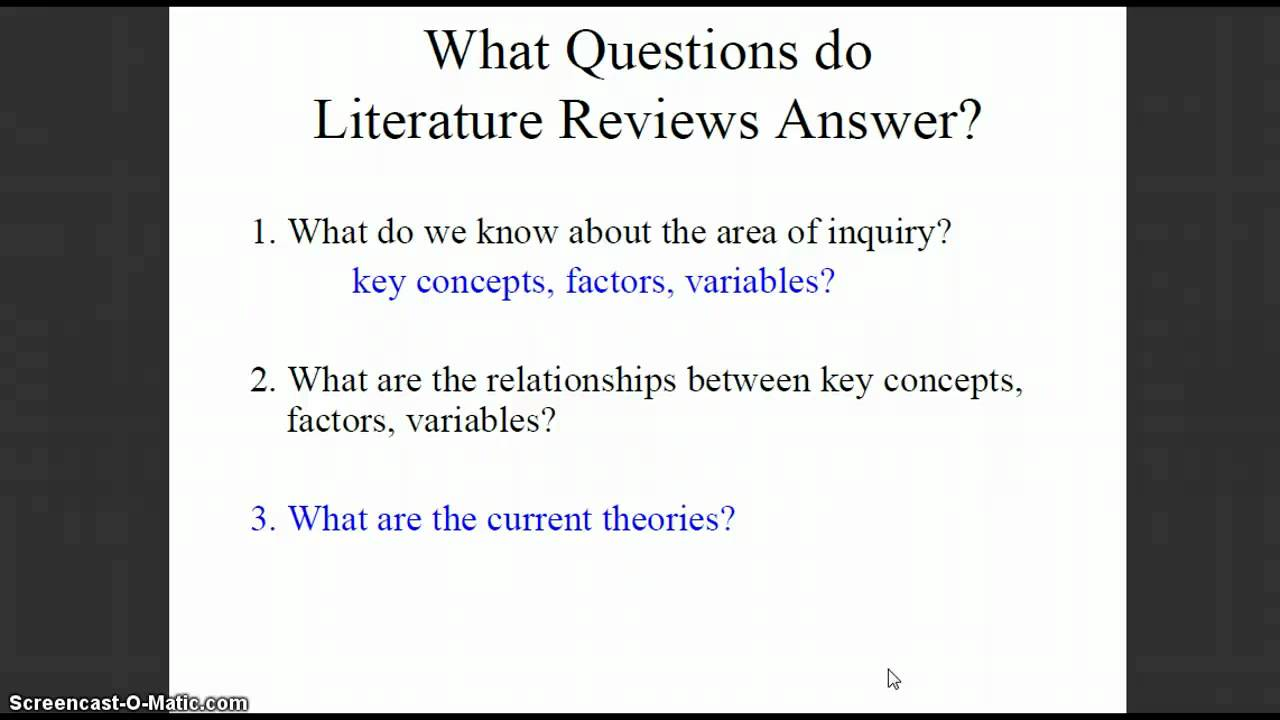 how to write literature review in thesis How to write a literature review in 30 minutes or less breaks down this academic assignment into 5 easy steps: (there is a text version of this video.