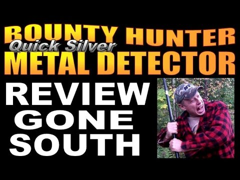 BOUNTY HUNTER METAL DETECTOR REVIEW. Quick Silver Madness.