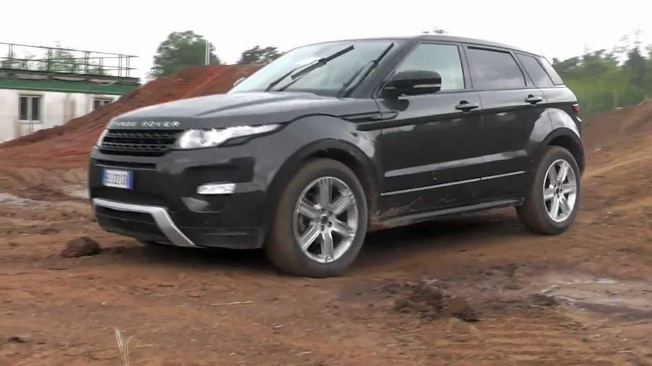 range rover evoque prova in fuoristrada off road test auto design tech. Black Bedroom Furniture Sets. Home Design Ideas