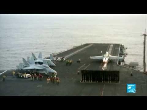 هذه هي الطائرات الأمريكية التي تضرب المواقع الجهادية في العراق