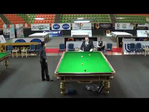 2014 IBSF World 6Reds Final (Frame4) - Pankaj vs. Kacper