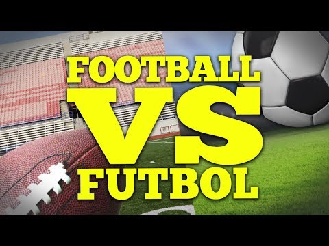 FOOTBALL vs. FUTBOL | Bad British Commentary
