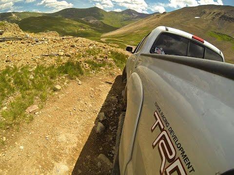 2011 Toyota Tacoma TRD Sport 2WD vs 4X4 Uphill Test