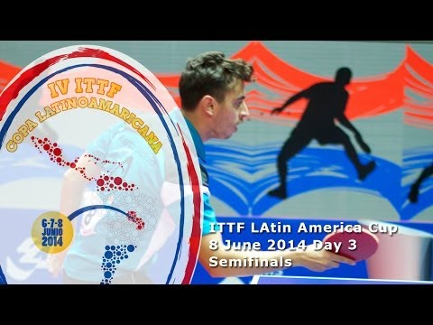2014 ITTF Latin America Cup - Semifinals
