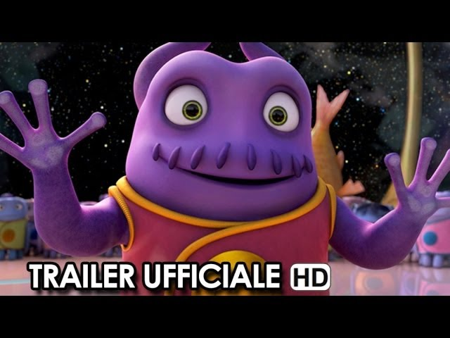 Home - A Casa Trailer Ufficiale Italiano (2015) - Steve Martin, Rihanna Movie HD