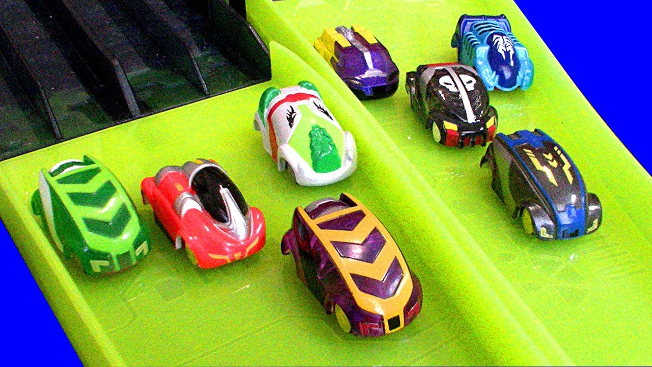 Micro Chargers Race Cars