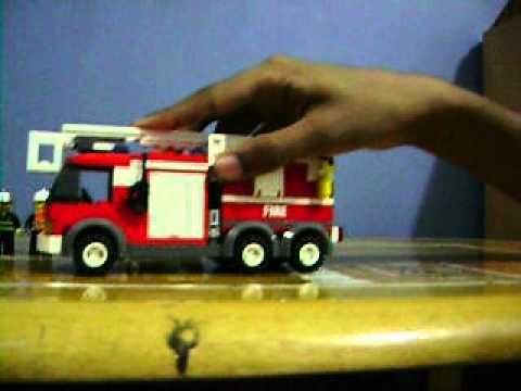 lego fire truck instructions 7239