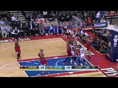 NBA HD - Chicago Bulls vs Detroit Pistons - 05 March 2014