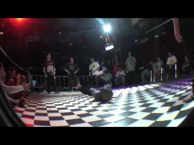 rollingrockTV: breakdance - Fighting 4 the South 2010: Ghost Rockz VS Pikaku Crew