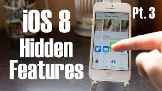 Top iOS 8 Hidden Features