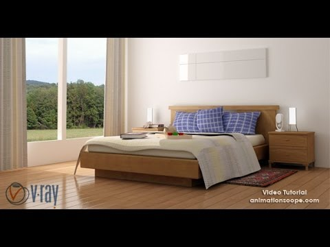 Interior Lighting In Vray , 3DS Max