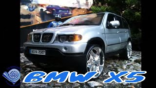 CS.diecast tuning modified BMW X5 1:18 scale model videos