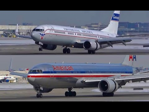 30+ Minutes Plane Spotting - West Flow - Chicago O'Hare International Airport