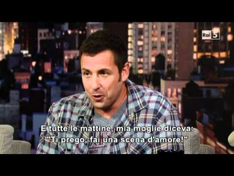 Adam Sandler al David Letterman Show