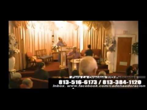 Culto Evangelistico Concilio Pentecostal Senda Antigua A.M.I.P. Tampa Florida USA. 06-15-14