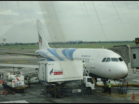 Owen'sTravel ✈ Suvarnabhumi Airport and Bangkok Airways 262 to Chiang Mai (A319)
