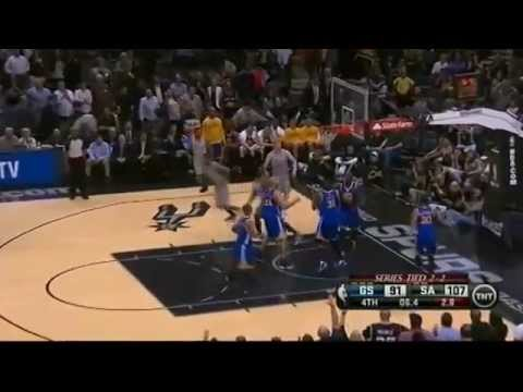T-Mac got 2rebs,1ast,2blks in Spurs Warriors G5 [05.14.2013]