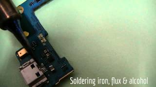 How To Repair A Broken Samsung Galaxy S2 Charging Port