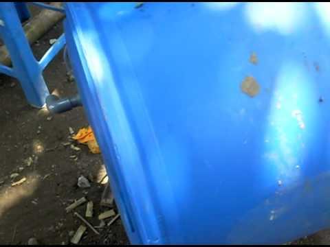 Pembuatan Tandon Air Sederhana Untuk Kumbung Jamur Tiram