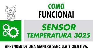 Sensor Temperatura 3025 – Español