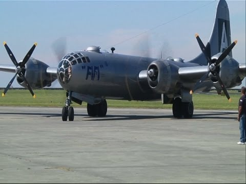 World War II Airmen Fly Again in B-29 Bomber