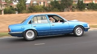 Street driven V8 turbo Holden Commodore