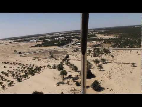 A fly over Douz - Tunisia - тунис