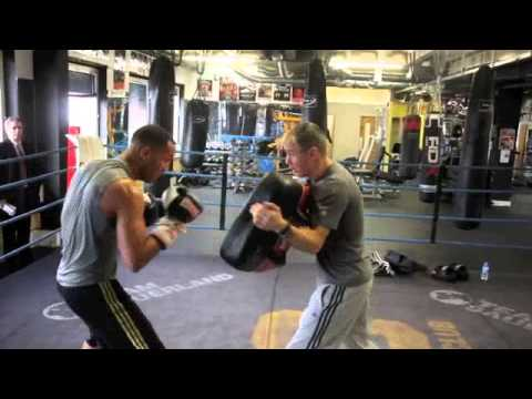 JAMES DeGALE & JIM McDONNELL PADWORK FOOTAGE @ STONEBRIDGE ABC / DeGALE v KHATCHIKAN