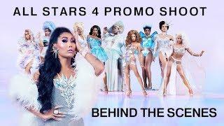 ALL STARS 4 PROMO BEHIND THE SCENES  | Gia Gunn