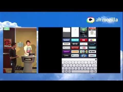 Firefox Junior on iPad