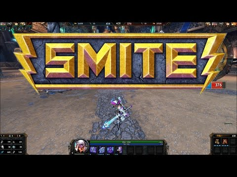 Smite. First game played, and i love it