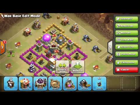TH6 War Base Anti Giant-Hog, Anti Giant-Healer