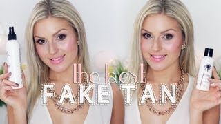Fake Tanning! ♡ How To Apply & My Favorites