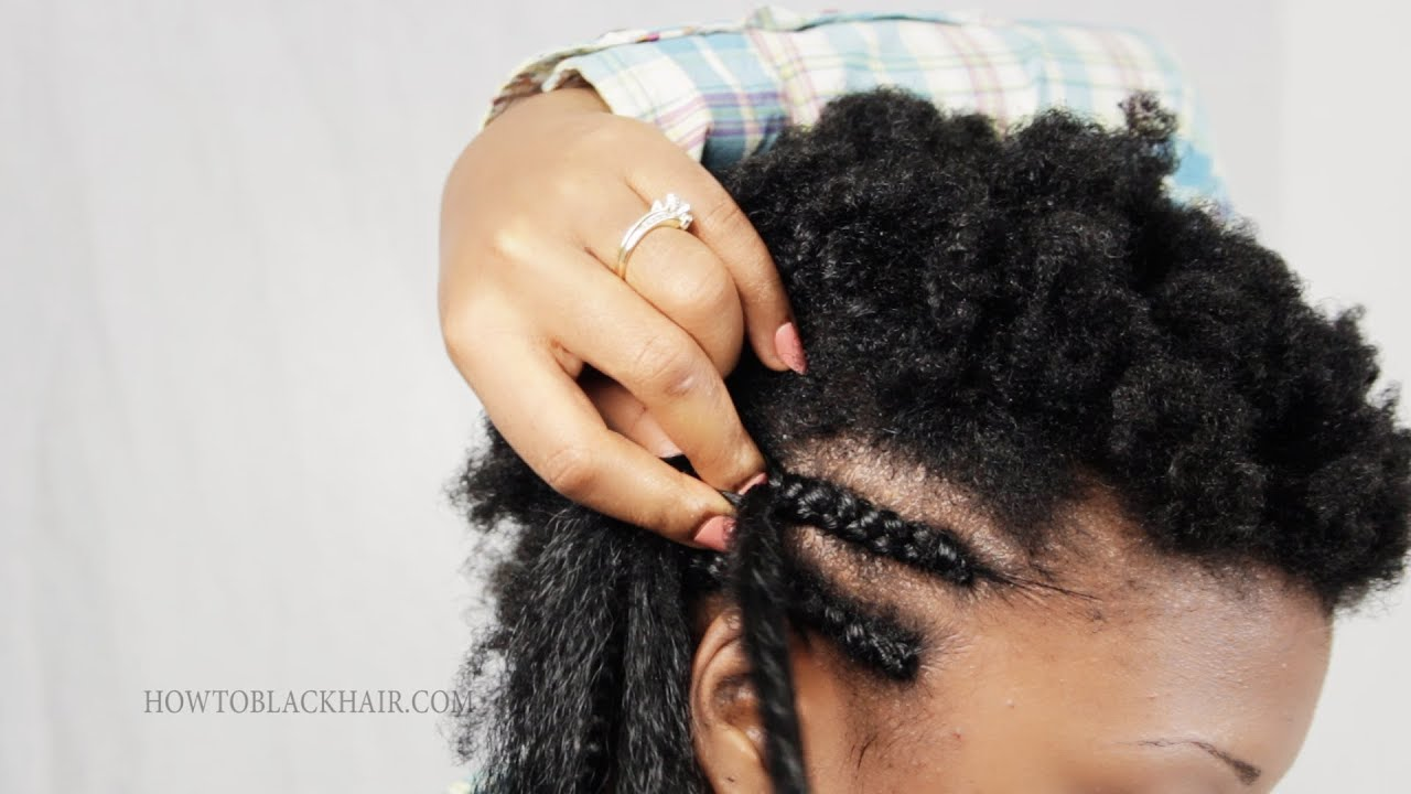 cornrow braids step by step tutorial how to part and