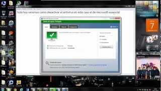 Como Desactivar El Antivirus Microsoft Security Essentials