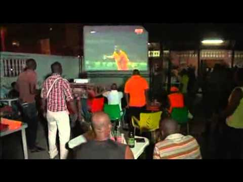 Fans Celebrate As Ivory Coast Make It To World Cup
