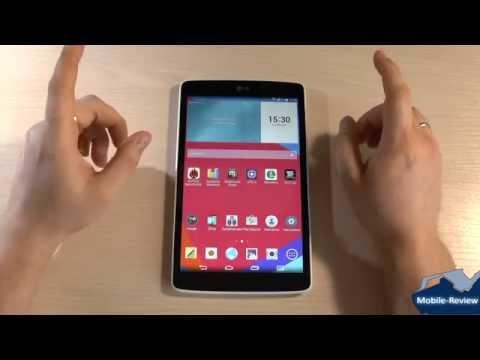 Видео обзор LG G Pad v490