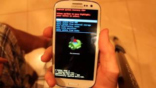 How To Hard Reset Samsung Galaxy S3 SIII SGH-I747M Wipe