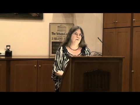 Poetry Evening at the Athens Centre - Susan McLean (Part 1)