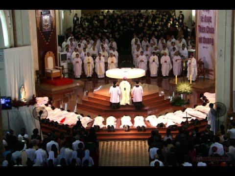 WGPSG - Thánh lễ Phong chức Linh mục  tại Sài Gòn 2016